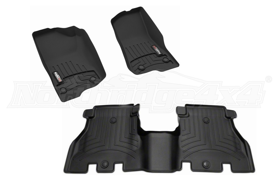 WeatherTech Front and Rear Floor Liner Package (Part Number:441313-1-2)