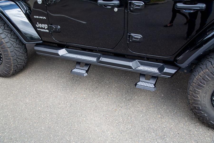 LOD Armor Lite Rock Slider Short Drop Steps - Pair - JT/JL/JK