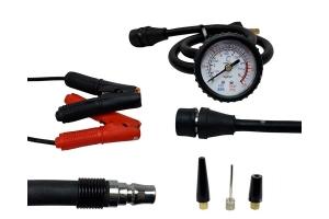 Up Down Air EGOI Air Compressor System w/ Storage Bag, Hose and Attachments