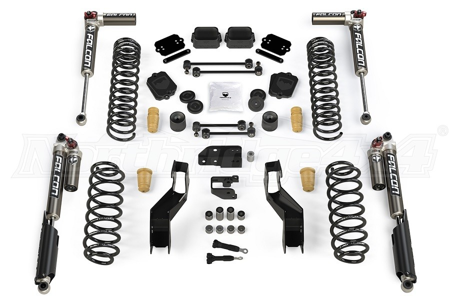Teraflex 4.5in Sport ST4 Suspension System w/ Falcon 3.3 Shocks (Part Number:1514033)