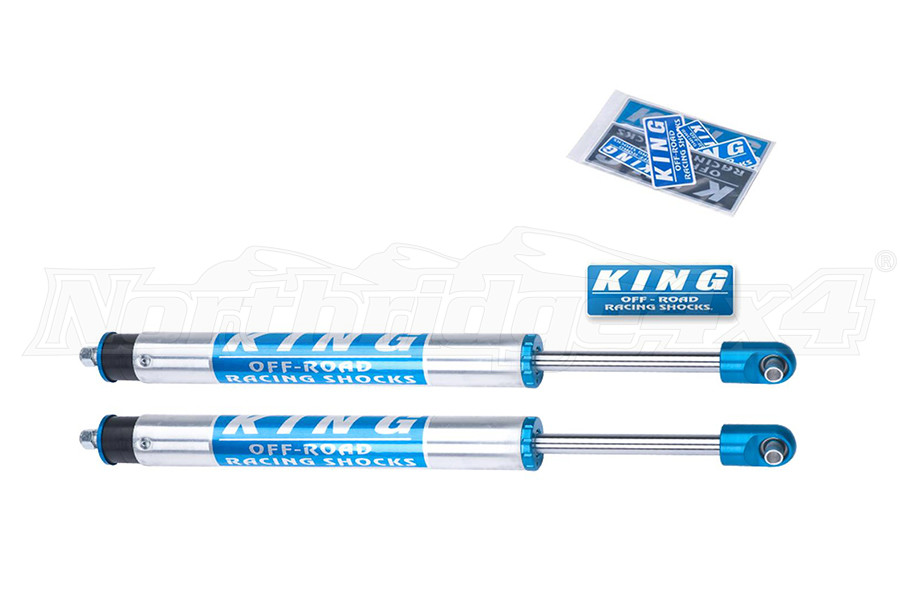 King Shocks 2.5 Performance Series Front Shocks w/Piggyback Reservoir 6in Lift (Part Number:25001-286)