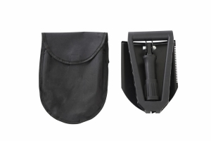 Overland Vehicle Systems Multifunctional Military Style Utility Shovel w/Carrying Case