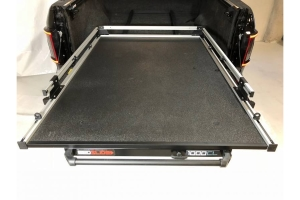 BedSlide 1000 Classic Cargo Slide System, 63in x 47in - Silver - Toyota Tundra 2007+ / Ram 1500  2009+ w/ 5.5ft Bed