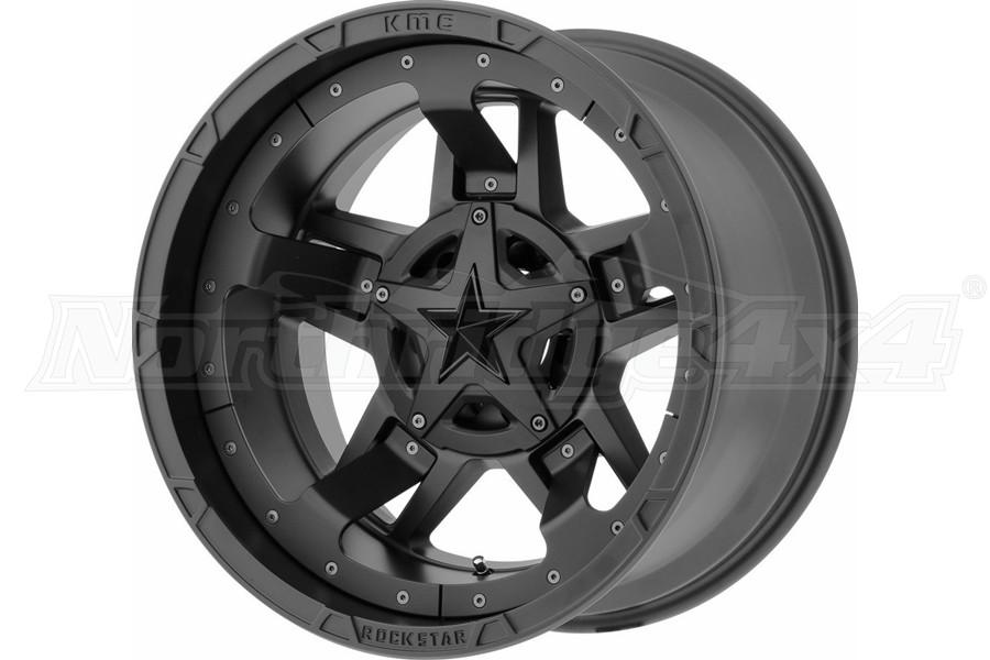 KMC XD827 Rockstar III Wheel, 17x9, 5x5/5x5.5
