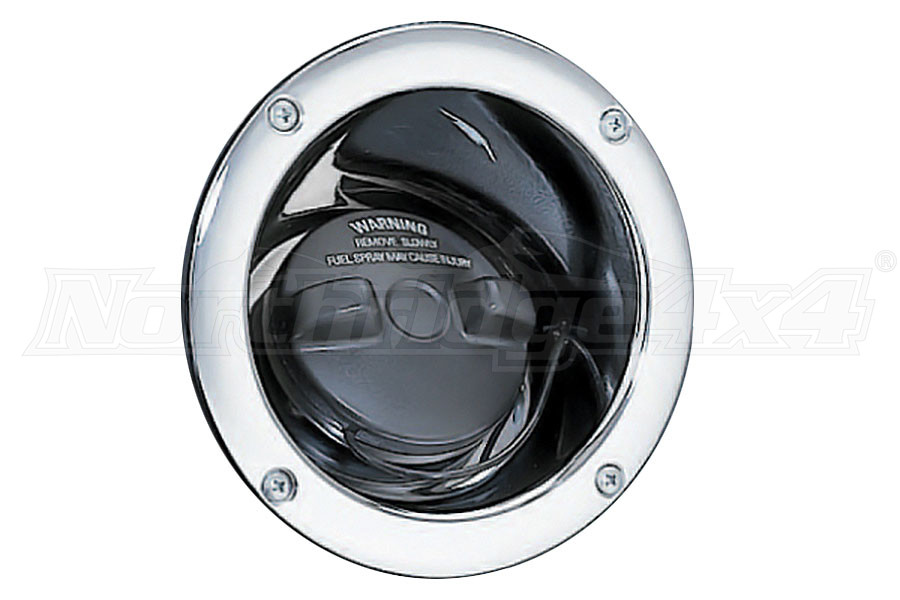 Smittybilt Gas Filler Housing Chrome (Part Number:7508)
