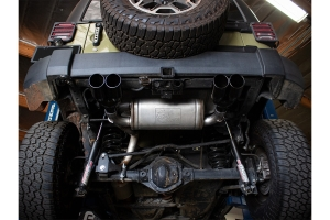 aFe Power Vulcan Series 2.5in Axle-Back Exhaust System - JK 3.6L/3.8L