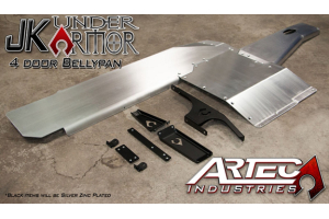 Artec Industries Bellypan Armor Kit - JK 4dr 2012+