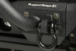 Rugged Ridge D-Ring, 7/8-Inch, 13500 Pound, Black (Part Number: )