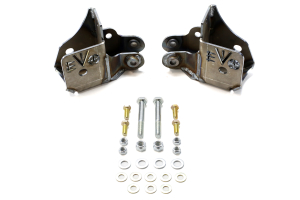 EVO Manufacturing Rockstar Rear Skids for Dynatrac 60 Bare Metal - JK
