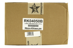 Rock Krawler Long Arm Passenger Side Bracket for Trail and Pro Series Systems ( Part Number: RK04050B)
