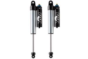 Fox 2.5 Factory Race Series Adjustable Reservoir Shocks Rear - 4.5-6in Lift - JK