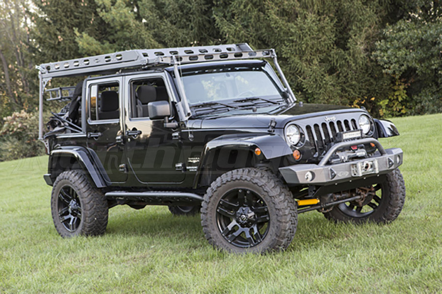 roof jkrack wrangler unlimited garvin rack jk racks jeep