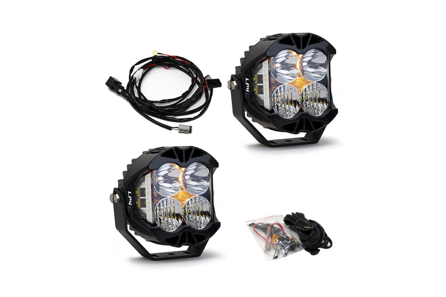 Baja Designs LP4 Pro Series Driving Combo LED Lights - Pair