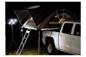 Freespirit Recreation Ready Light LED Solar Light - Black Ops (Part Number: )