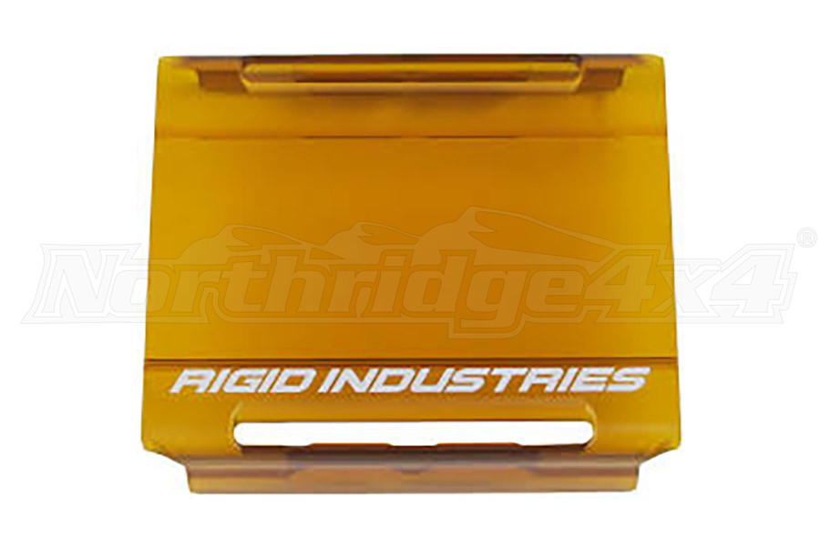 Rigid Industries E-Series Cover, Amber 4in (Part Number:10493)