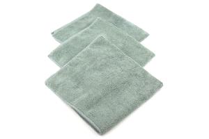 Chemical Guys Workhorse Professional Grade Microfiber Towel Grey - 3 Pack
