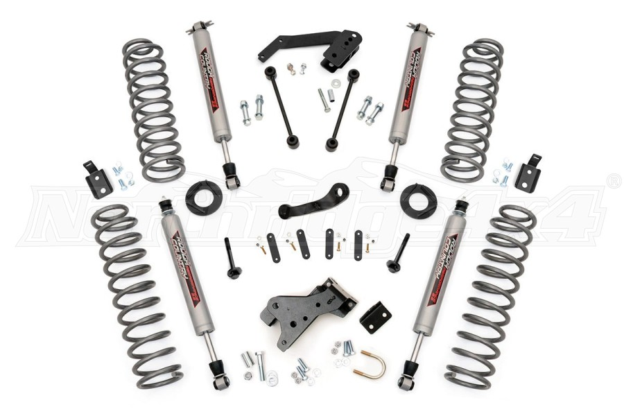 Rough Country 4IN Suspension Lift Kit w/Premium N3 Shocks (Part Number:681S)