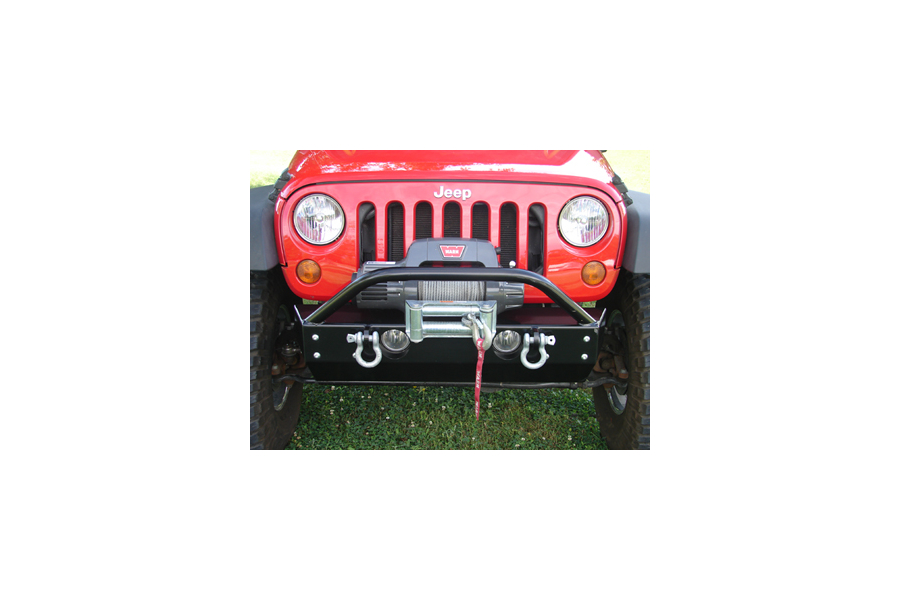 Rock Hard 4x4 Patriot Series Stubby Front Bumper (Part Number:RH-5001-B)