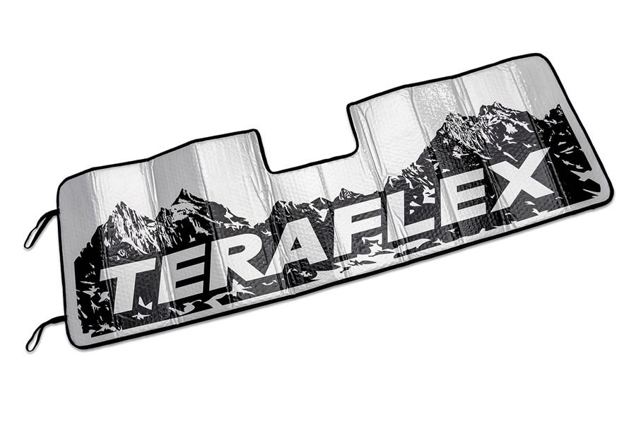 TeraFlex Windshield Sunshade w/ ADAS - JT/JL