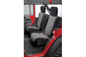 Rugged Ridge Rear Seat Cover Black/Grey - JK 4dr