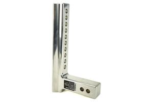 Trimax 12in Premium Aluminum Adjustable Hitch (Part Number: )