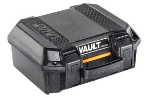 Pelican V100 Vault Small Pistol Case - Black