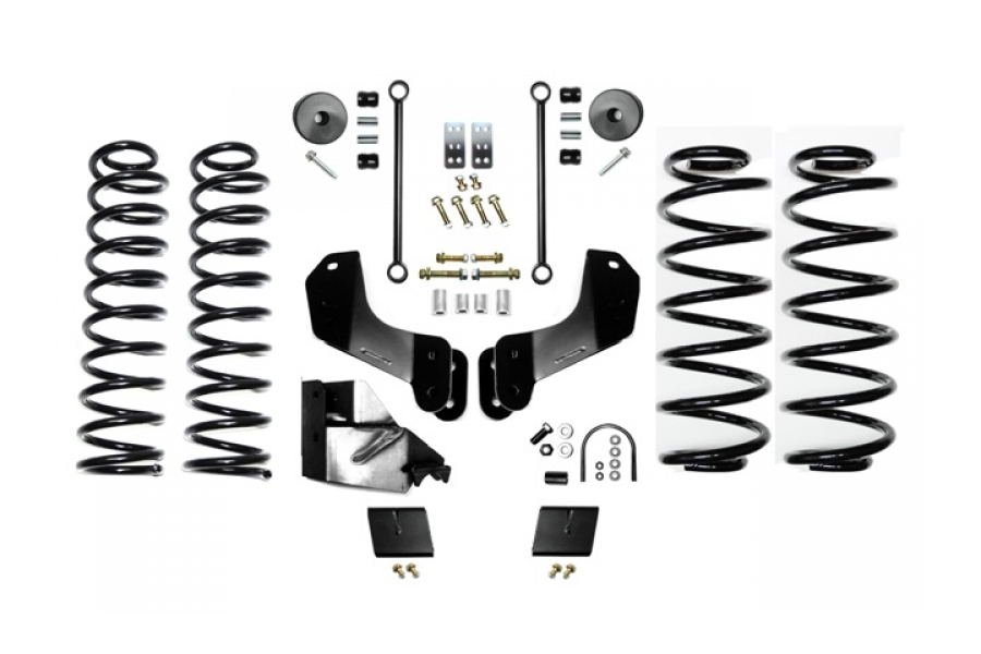 EVO Manufacturing 3.5in Enforcer Overland Lift Kit Stage 1 (Part Number:3014S1)
