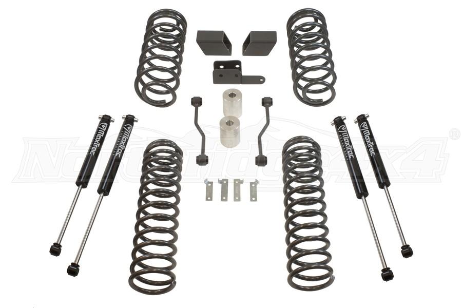 Maxtrac Suspension 3in Coil Lift Kit w/ Maxtrac Shocks - JL 4dr