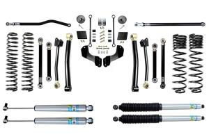 Evo Manufacturing 2.5in Enforcer Overland Stage 4 PLUS Lift Kit w/ Bilstein Shocks - JT