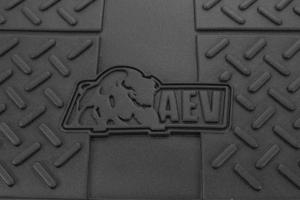 AEV Rear Cargo Liner Black (Part Number: )