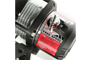 Rugged Ridge Winch, 9500 LBS, Cable, Waterproof (Part Number: )