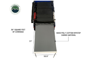 Overland Vehicle Systems Nomadic Awning 4.5ft With Black Cover
