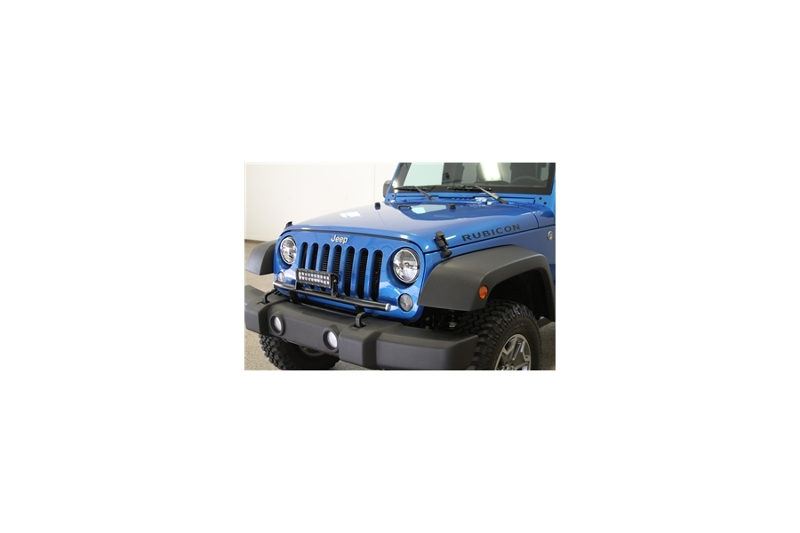 Rock Hard 4x4 Front Bumper Light Mount - JK