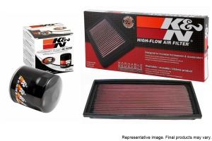 K&N Air and Oil Filter Package