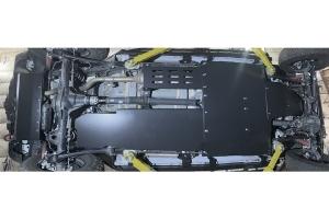 Rock Hard 4x4 Complete Bellypan Skid Plate System w/ Dual Crossmembers  - JL 4Dr Diesel