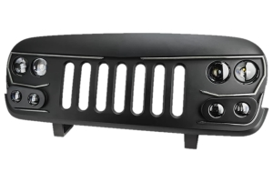 Oracle Vector Pro Series Full LED Grill - Flat Black - JK