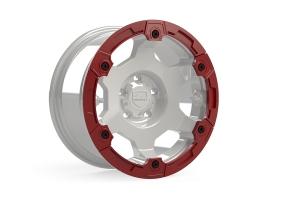 Teraflex Nomad Split Rash Ring Kit w/ Hardware - Red