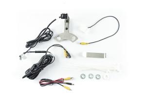 Brandmotion SummitView Adjustable Rear Vision System with Infrared Camera for Aftermarket Display - JL/JK