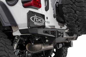 Addictive Desert Designs Stealth Fighter Rear Bumper with Backup Sensors - JL