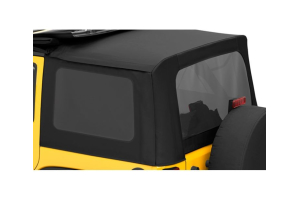 Bestop Soft Top Replacement Tinted Window Kit, Black Diamond - JK 4dr 2007-10