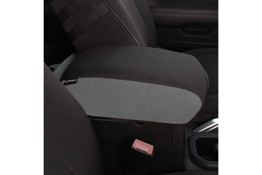 Bartact Padded Center Console Cover - Graphite/Graphite - JT
