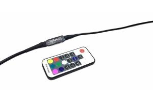 Quake LED RGB RF Whip Light/CB Antenna Remote Controller