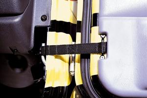Rugged Ridge Adjustable Door Straps  (Part Number: )