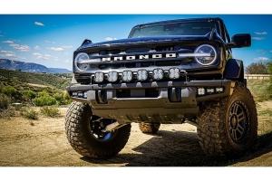 Baja Designs Pro Series Fog Pocket Kit w/ Upfitter  - Ford Bronco