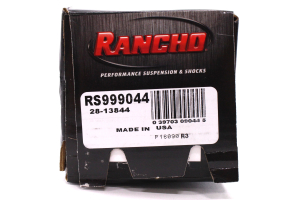 Rancho Performance RS9000XL Series Front Shock, 4IN Lift Trucks (Part Number: )