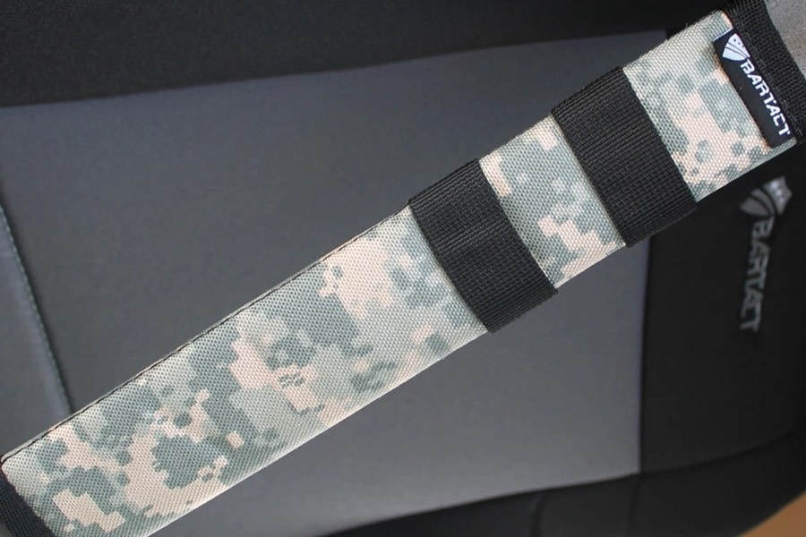 Bartact Universal Seat Belt Covers, Pair - Digital Camo