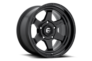MHT Fuel Shok Wheel 17x9 5x127 Matte Black - JT/JL/JK