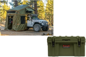 Roam Vagabond Rooftop Tent w/ Rugged Case Package