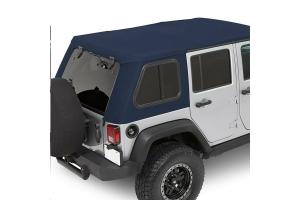 Bestop Trektop Pro Hybrid Soft Top, Blue - JK 4dr
