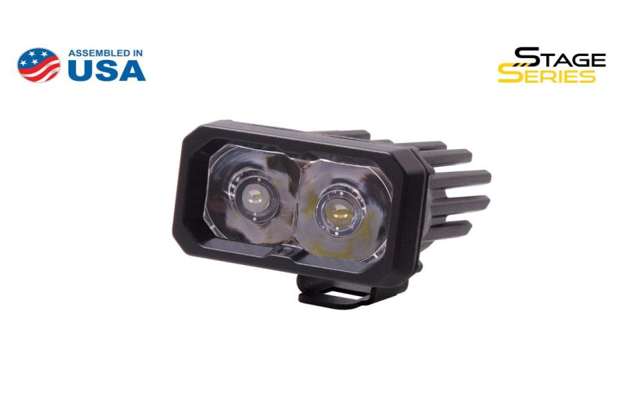 Diode Dynamics SSC2 2IN Sport LED Spot Pod, BBL